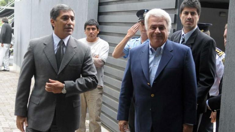 Políticos. Alejo Paredes y José Manuel de la Sota. (La Voz/Archivo)
