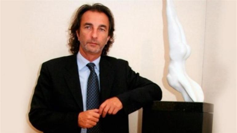 Angelo Calcaterra, el primo del Presidente