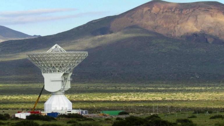 CONTACTO. Una antena ubicada en Mendoza recibirá las primeras señales de la misión Exomars. (diario Los Andes)