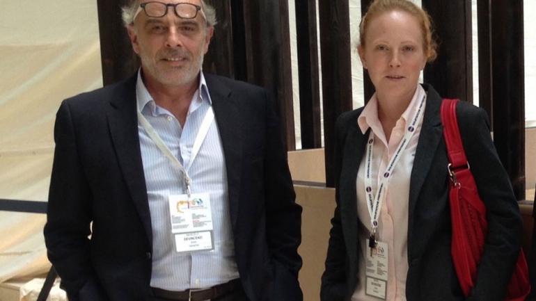 El empresario argentino que buscará el ARA San Juan. (TN)