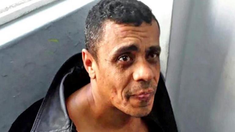Adélio Bispo de Oliveira. El autor del ataque contra el candidato presidencial de Brasil. (La Nación)