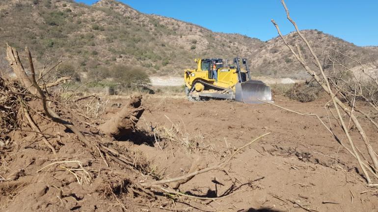 El área, en San Roque, por la que se discurte el avance de la obra (La Voz)