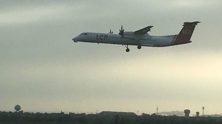 Impactante aterrizaje de emergencia de un avión en Perú