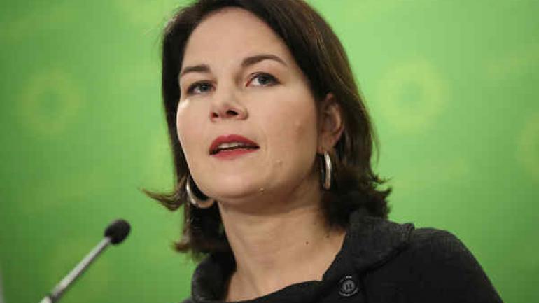 Annalena Baerbock. 37 años. Economista. Es una de las máximas referentes del partido ecologista Los Verdes, cuya presidencia comparte con Robert Habeck.