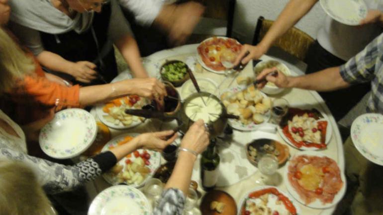 VARIEDAD. En la salsa se puede untar lo que el paladar mande (La Voz/Archivo).