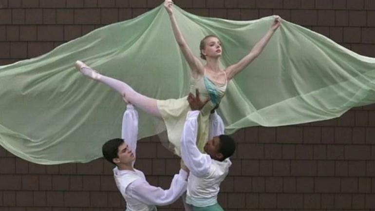 Alexandra, bailarina del ballet de Nueva York (foto The Chautauquan Dally).