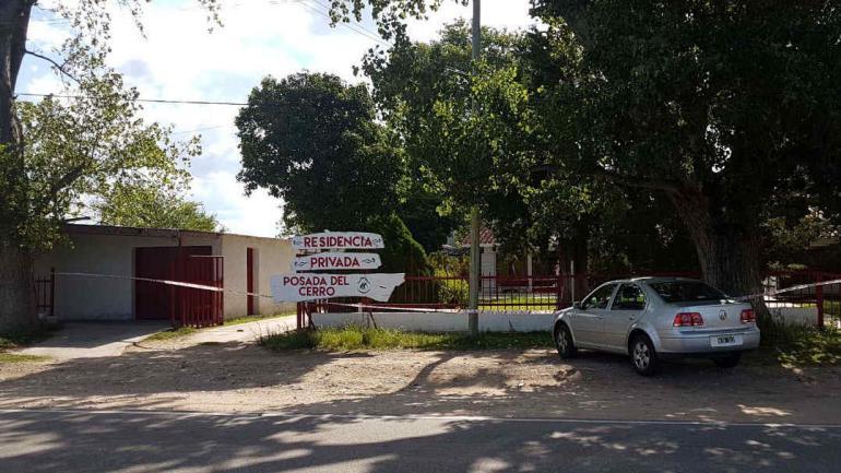 Bajo la lupa. La residencia de Taninga fue clausurada por orden de la Fiscalía, para garantizar la recolección de pruebas.