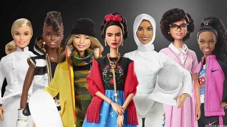En el marco del Día Internacional de la Mujer, Barbie rinde homenaje a mujeres destacadas de la sociedad.