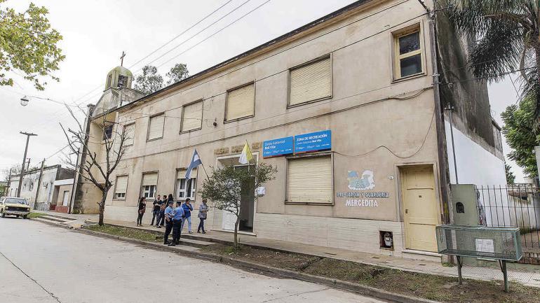 """Hogar Cristo Rey donde funciona """"El Centro Asistencial para Tratamiento de Adicciones."""" (Municipalidad de Bell Ville)"""