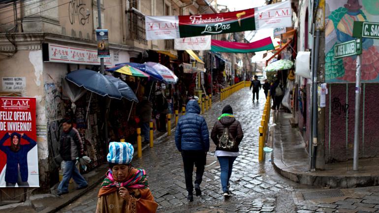 Antes de que llegaran los colonizadores españoles, la calle del mercado era un terreno ceremonial sagrado. (AP Photo / Juan Karita)