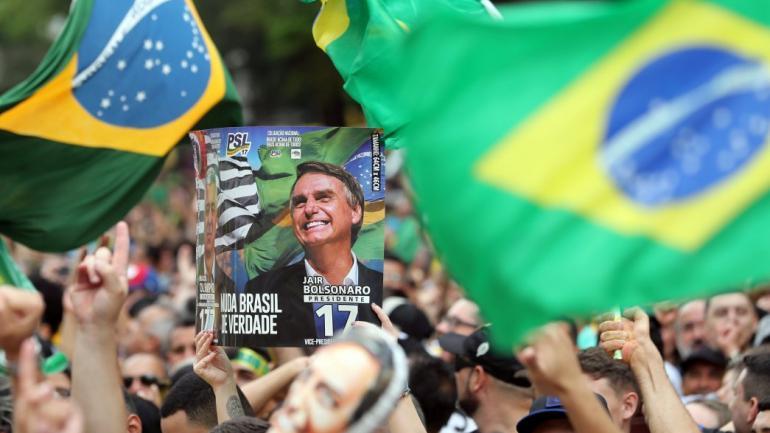 Brasil: Bolsonaro dice que ganará elecciones sin necesidad de segunda vuelta
