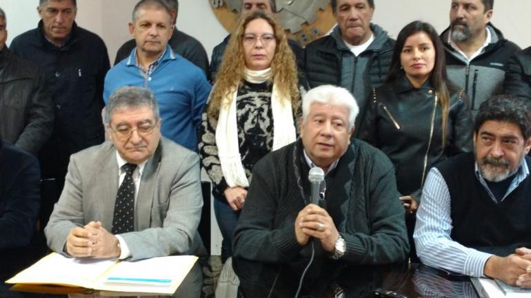 SUÁREZ. En conferencia de prensa (Nicolás Bravo).
