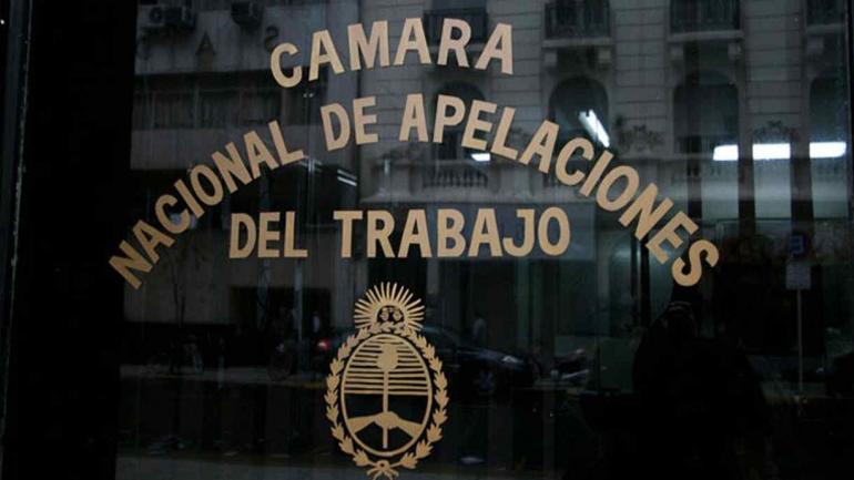 CÁMARA NACIONAL DEL TRABAJO. (Página web de CIJ).