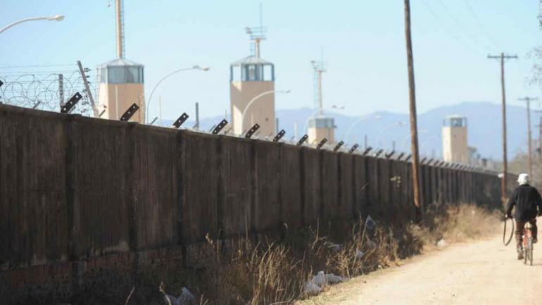 CRUZ DEL EJE. La cárcel de la ciudad del noreste cordobés (La Voz / Archivo).