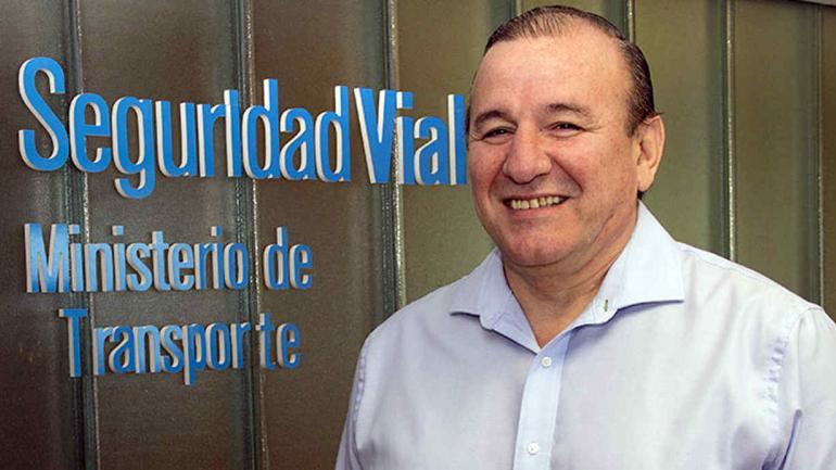 Carlos Pérez es el director Ejecutivo de la Agencia Nacional de Seguridad Vial.