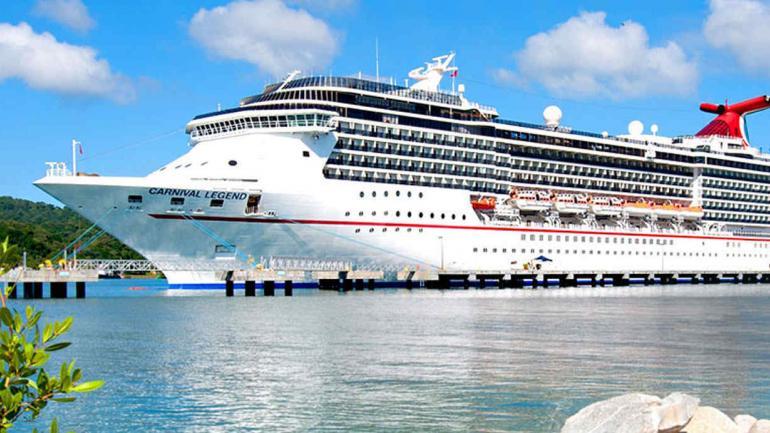 Carnival Legend. Así era el crucero del cual fueron expulsados. (Carnival.com)