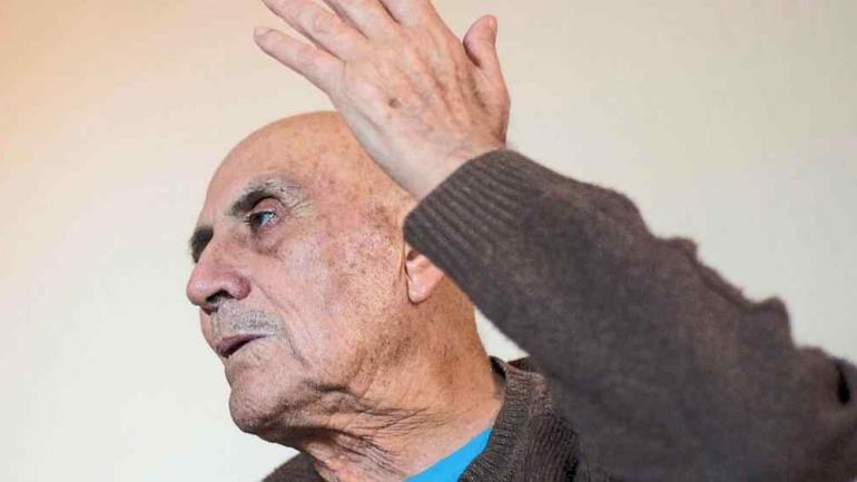 Juan Carranza, hoy. Es jefe comunal de Los Molinos desde 1974 (La Voz)