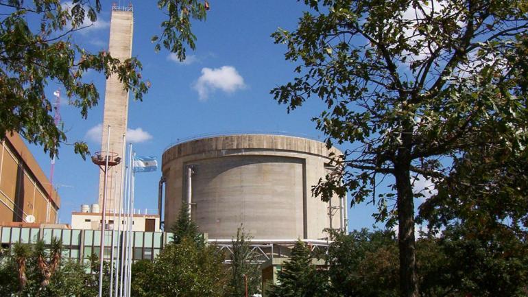 EMBALSE. La Central Nuclear de Embalse es del tipo Candu, al igual que la cancelada Autcha III. (N.A.S.A.)