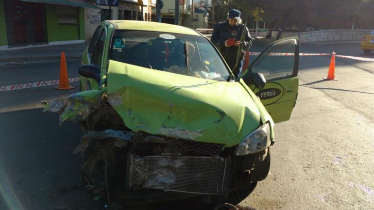 El siniestro ocurrió a las 5.15 de este lunes (Ramiro Pereyra).