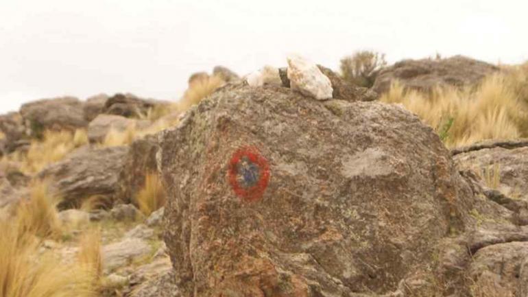 Imagen publicada por Asociación de Guías del Parque Nacional Quebrada del Condorito, en su Facebook,