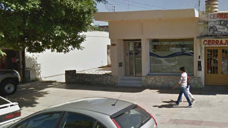 CONSULTORIO. En Alta Gracia (Captura/©Google Street View).