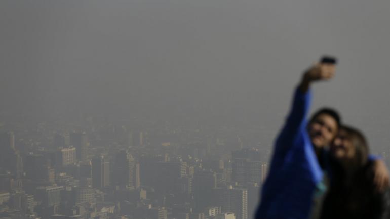AIRE. El aire contaminado es una de las principales causas de las afecciones respiratorias en los niños. (AP)