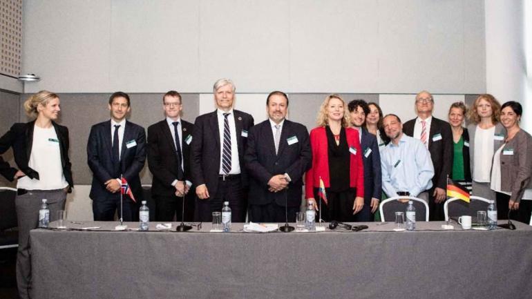 Para Ecuador es fundamental detener la deforestación, afirmó el ministro Granizo en Oslo. (Ministerio de Ambiente del Ecuador)