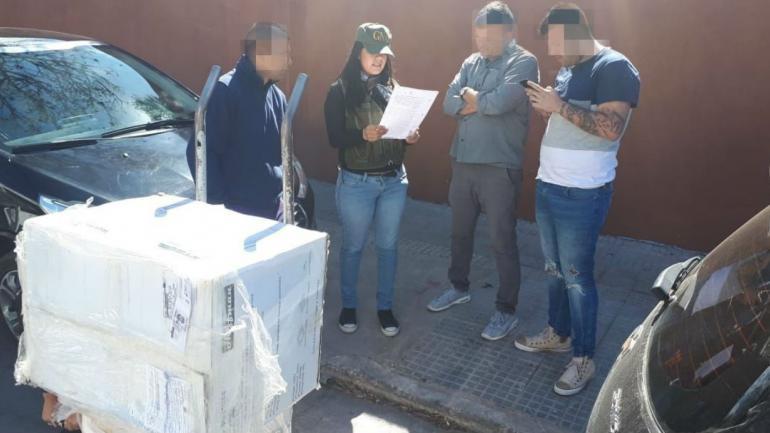 Incautaron más de 22 kilos de marihuana (foto: Ministerio de Seguridad).