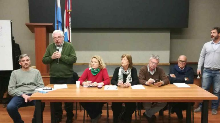 Encuentro de los partidos que integran el Frente Córdoba Ciudadana. (Gentileza Carmen Nebreda)