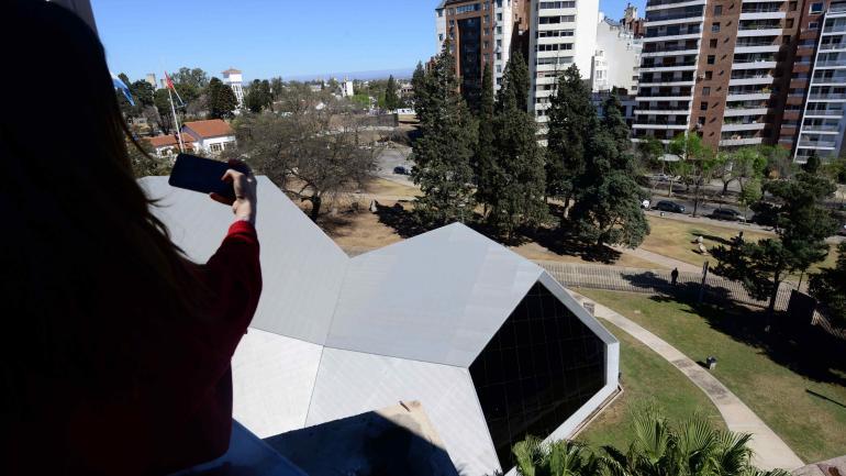 Cúpula. Vista desde la torre que contiene el telescopio para las visitas. (José Gabriel Hernández)