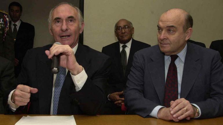 Entre diciembre de 2000 y septiembre de 2001 intervino Domingo Cavallo al frente del Ministerio de Economía, siempre con Horst Köhler como intelocutor al frente del Fondo. (La Voz/ Archivo).