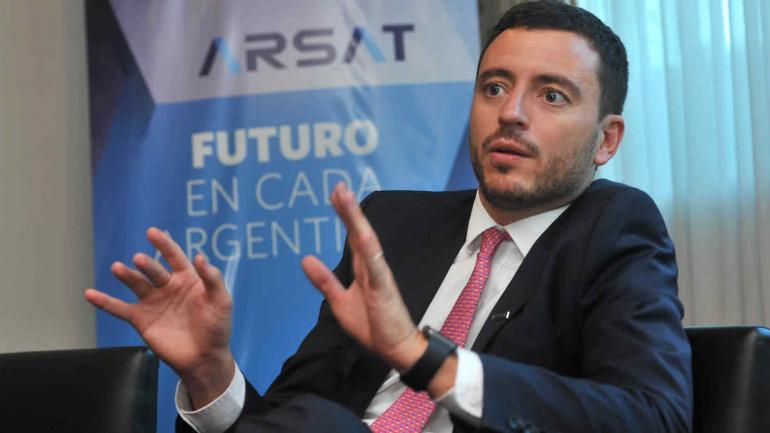 Rodrigo de Loredo, presidente de Arsat.