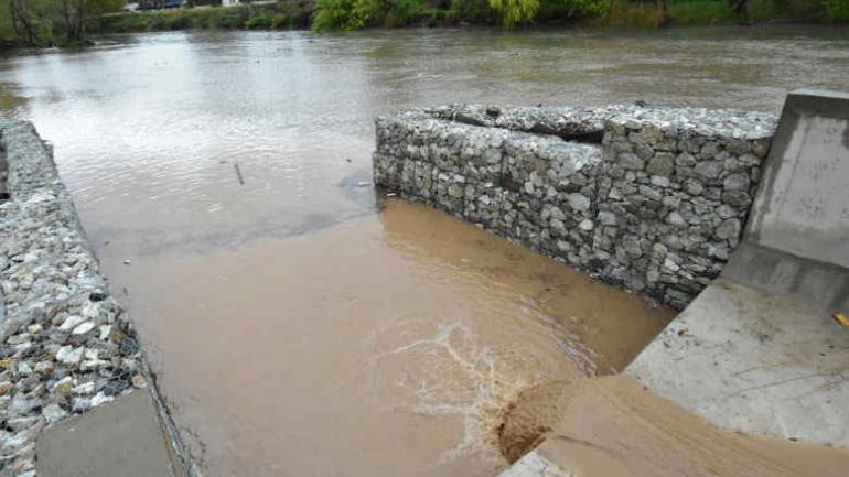 Desagües. Un sector en Villa María ya se habilitó. (Municipalidad de Villa María)
