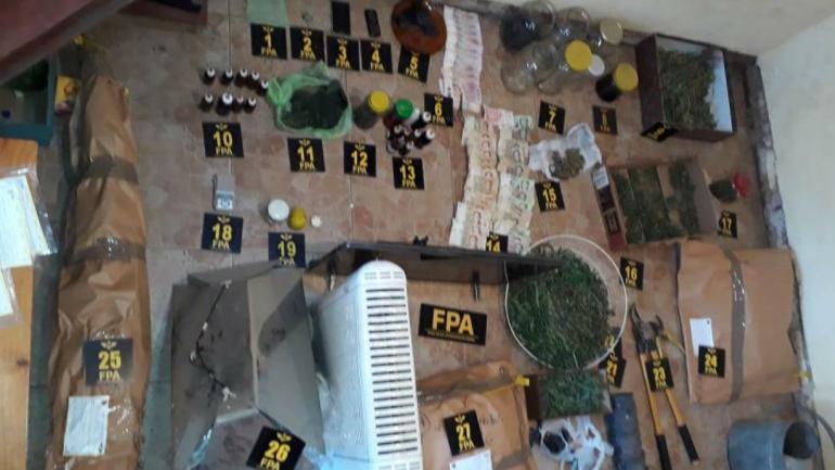 Operativo en Capilla del Monte (FPA).