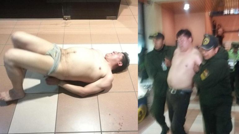 El papelón de un Diputado que terminó desnudándose en un aeropuerto