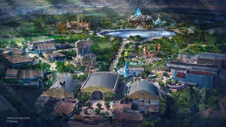 DISNEY. La empresa invertirá 2.000 millones de euros en su parque europeo. (Disneyland Paris)