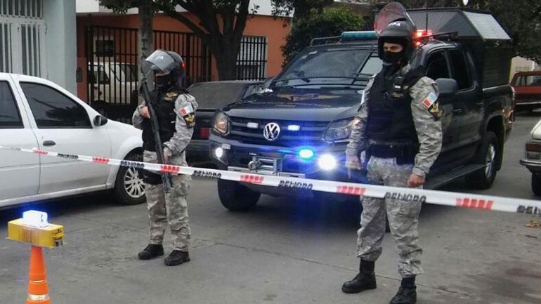 OPERATIVO. En Carlos Paz (FPA).