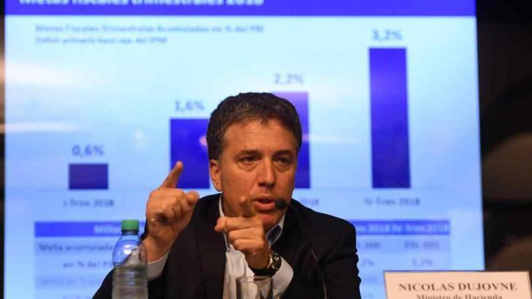 Nicolás Dujovne (Télam / Archivo)