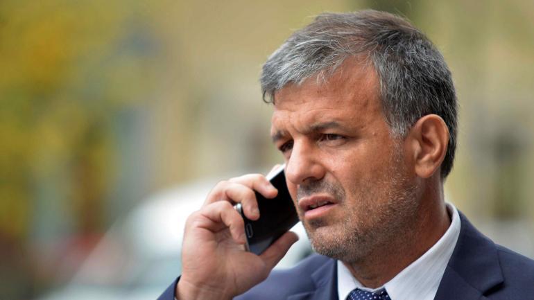 El abogado de Eduardo Fellner, Horacio Aguilar. (La Voz)