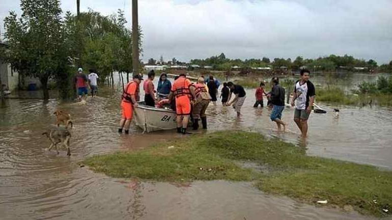 ENTRE RÍOS. En esta provincia murieron dos personas como consecuencia del temporal. (FiloNews)