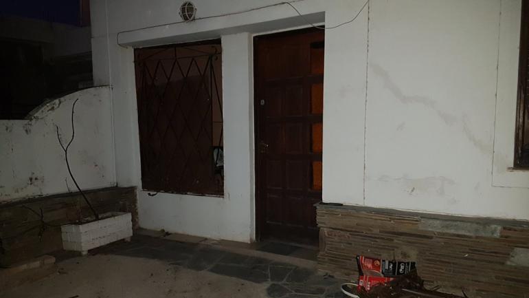 La vivienda donde ocurrió la explosión (@leoguevara80).