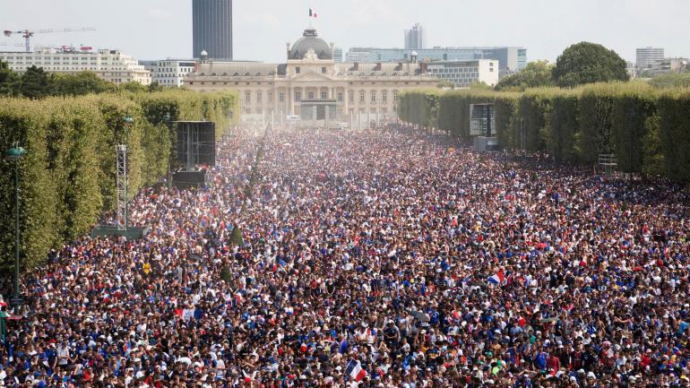 Festejos en Francia tras el título. (DPA / Archivo)