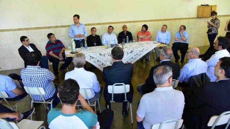 La reunión multisectorial que acordó el documento en Villa María.