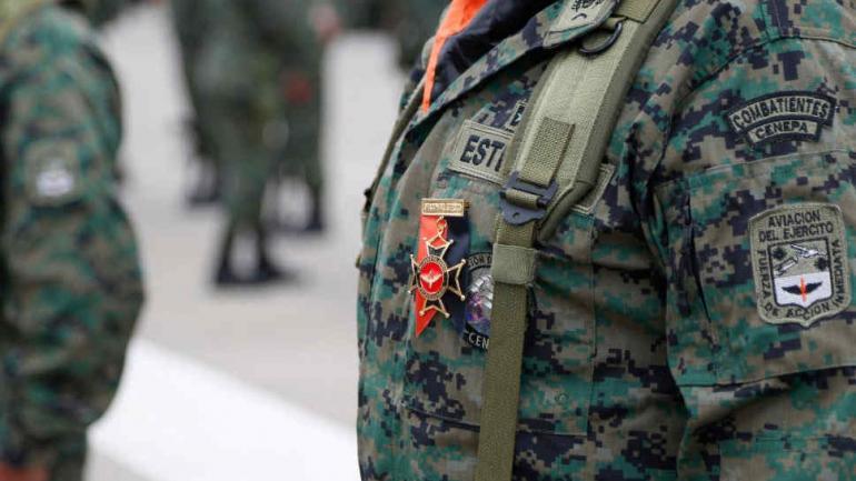 HISTÓRICO. Ecuador suma a las mujeres a las Fuerzas Armadas (Foto de Twitter @DefensaEc).