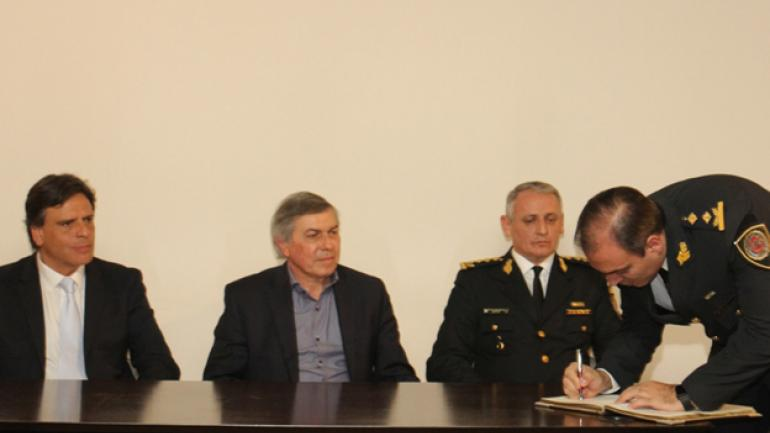Otro ascenso. Dario Gaitán asumió al frente de la nueva Dirección General de Gestión Administrativa. (Gobierno de Córdoba)
