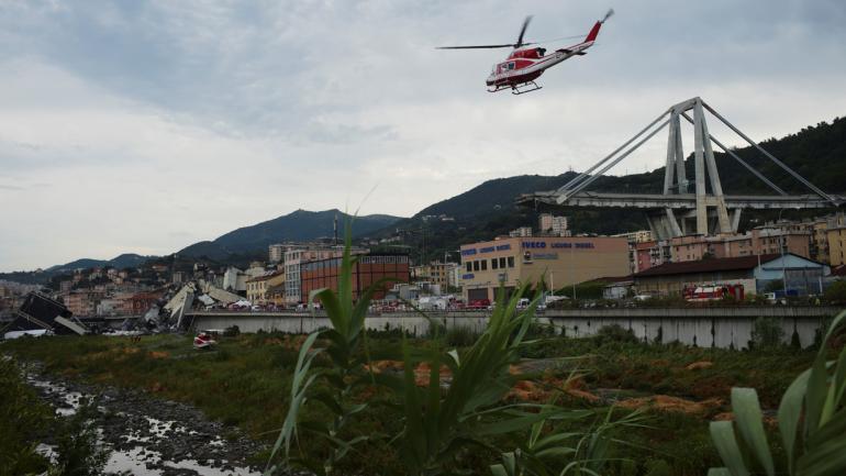 GÉNOVA. 43 personas murieron por el colapso (AP/Archivo).
