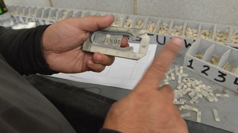 VERIFICACIÓN. El grabado de autopartes es obligatorio en Córdoba. (La Voz/Archivo)