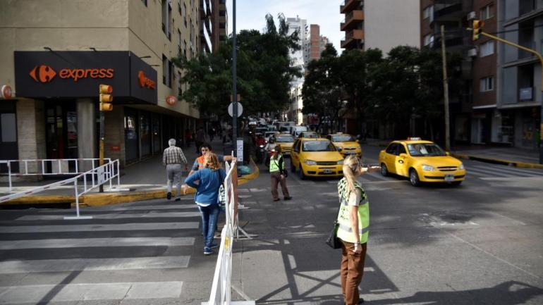 Las obras por el Portal de Güemes ya comenzaron sobre calle Belgrano (Pedro Castillo).