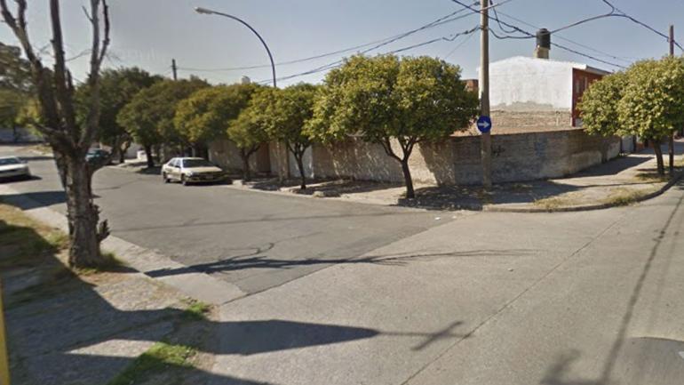 ZONA. Haedo y Peredo (Captura/©Google Street View).