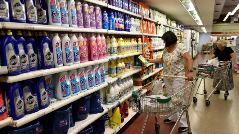 Higiene y limpieza. Otros productos que también están en el vértice de las subas en el período analizado por el relevamiento. (Raimundo Viñuelas)